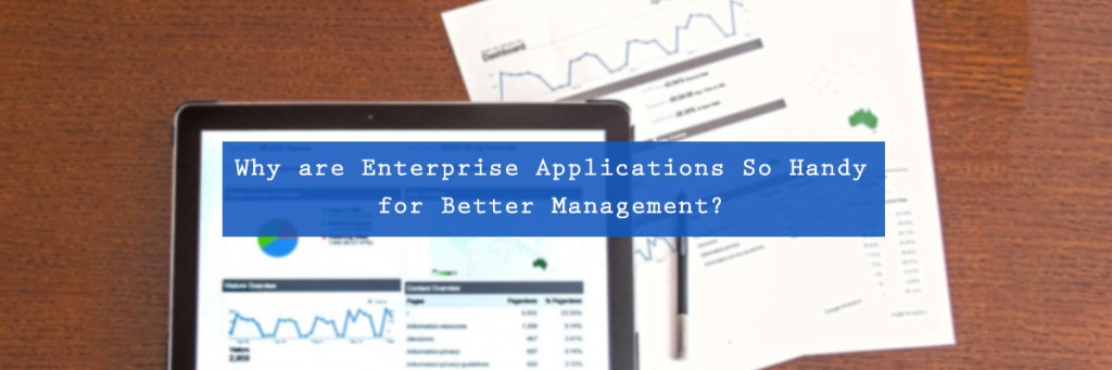 Why are Enterprise Applications So Handy for Better Management